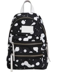 Marc By Marc Jacobs - Mini Packrat Printed Nylon Backpack - Lyst