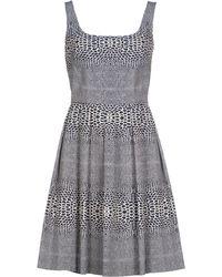 Issa Short Dress white - Lyst