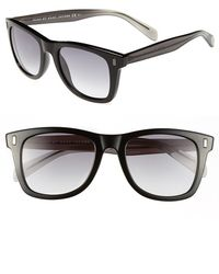 Marc By Marc Jacobs 51Mm Sunglasses - Shiny Black - Lyst