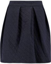 Petit Bateau - Matelassé Cotton-blend Jersey Mini Skirt - Lyst
