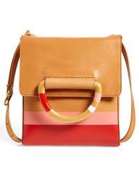 Tory Burch Leather Crossbody Bag - Lyst