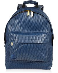 River Island Navy Mipac Perforated Backpack - Lyst