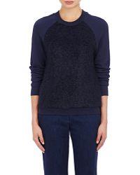 Atea Oceanie - Boucle-front Sweatshirt - Lyst