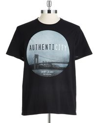 DKNY Graphic T Shirt - Lyst