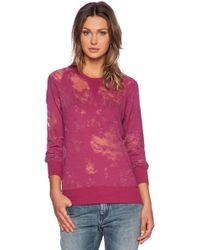 Iro Pink Garence Sweatshirt - Lyst