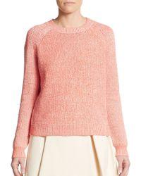 3.1 Phillip Lim Marled Knit Raglan Sweater - Lyst