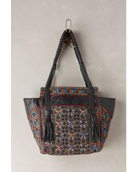 Antik Batik Achala Embroidered Satchel - Lyst