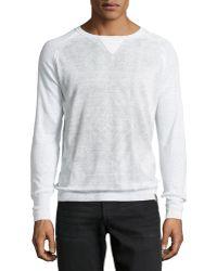 Diesel K-rigel Faded Print Pullover - Lyst