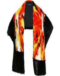 Thakoon - Ikat Patchwork Blanket Scarf - Lyst