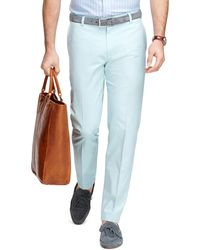 Brooks Brothers Clark Fit Oxford Chinos - Lyst