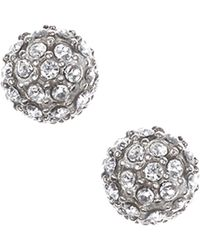 Judith Jack - Marcasite Stud Earrings - Lyst