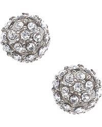 Judith Jack - Marcasite Stud Earrings - Lyst