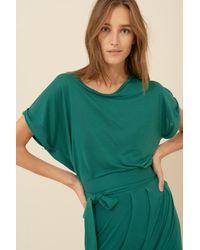 Ba&sh Shirt Dress Lea - Green
