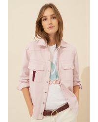 Ba&sh Shirt Carola, Long Sleeves - Pink
