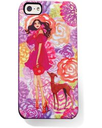 Henri Bendel Flower Power Case For Iphone 5 - Lyst