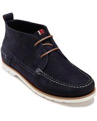 Tommy Hilfiger Deck Shoe Boot - Lyst