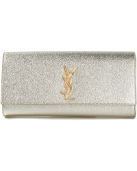 Saint Laurent 'Monogramme' Clutch - Lyst