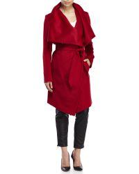 Diane von Furstenberg | Kim Wrap Coat | Lyst