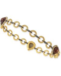 Alexis Bittar Elements Bicolor 3-Pear Bangle - Lyst