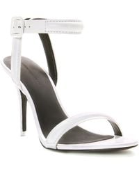 Alexander Wang | Antonia Leather Sandal | Lyst