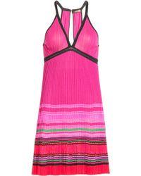 Roberto Cavalli Knit Dress - Lyst
