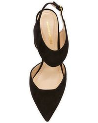Nicholas Kirkwood Suede Two-Piece Pump - Lyst