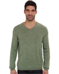 Calvin Klein Merino Solid V-neck Sweater - Lyst