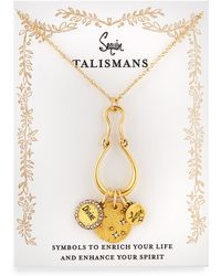 Sequin | Divine Love Talisman Charm Necklace | Lyst