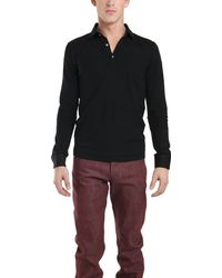 Spurr By Simon Spurr Black Rugby Sweater - Lyst