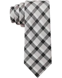 Calvin Klein Steel Salt and Pepper Cheeks Skinny Tie - Lyst