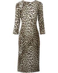 Rag & Bone Leopard Print Dress - Lyst