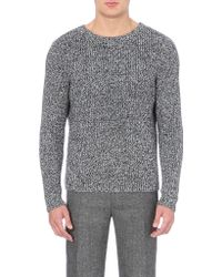 Sandro Heather Wool Jumper - Lyst