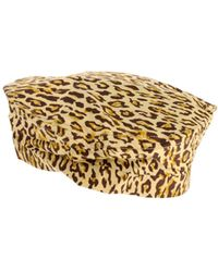 Chloë Sevigny x Opening Ceremony Leopard Print Hat beige - Lyst
