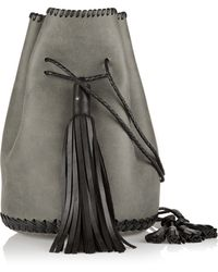 Wendy Nichol Bullet Nubuck Bucket Bag - Lyst