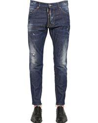 DSquared² 165cm Cool Guy Cotton Denim Jeans - Lyst