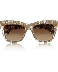 Dolce & Gabbana Squareframe Acetate Sunglasses - Lyst