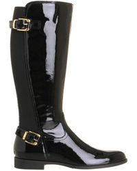 Office Agent 2 Elastic Back Knee Boot - Lyst