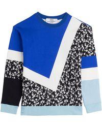 Prabal Gurung Printed Cotton Sweatshirt - Lyst