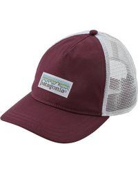 Patagonia - Pastel P-6 Label Layback Trucker Hat - Lyst