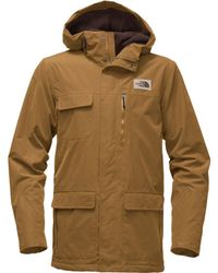 The North Face - Cuchillo Hooded Parka - Lyst