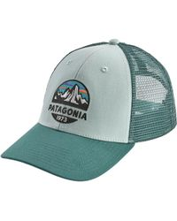 c7e95ed5 Patagonia 'stained Glassy - Lopro' Trucker Hat in Black for Men - Lyst
