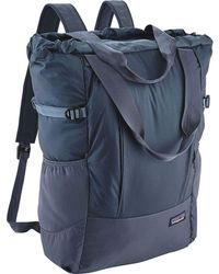 e09094a9397e Lyst - Patagonia Lightweight Travel Tote Pack 22l in Black for Men