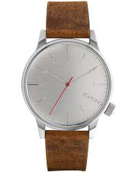 Komono - Winston Classic Watch - Lyst