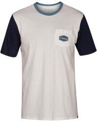 Hurley - Blocked Pocket T-shirt - Lyst