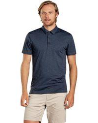 Toad&Co Tempo Short-sleeve Polo - Blue