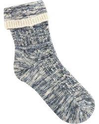 Birkenstock - Cotton Structure Sock - Lyst