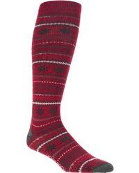 Woolrich - Novelty Merino Knee Hi Snowflake Sock - Lyst