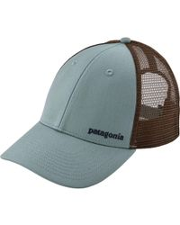 24c9835de691a Lyst - Patagonia Small Text Logo Lopro Trucker Hat in Brown for Men
