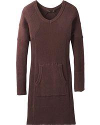 a8267a17adc1 Lyst - Converse Satin Trim Sweatshirt Dress in Gray