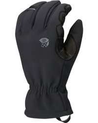 Mountain Hardwear - Torsion Insulated Glove (black) Extreme Cold Weather Gloves - Lyst